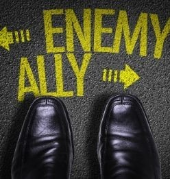 An enemy or a trader?